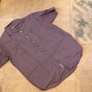 Lucky Brand 100% Cotton Button Down Shirt